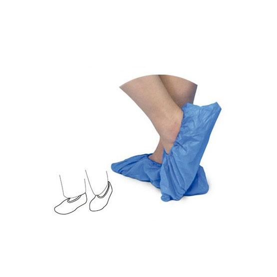 Protector Sapatos em Plastico Azul  100 Uni.
