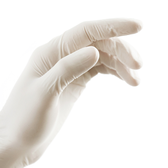 Latex Gloves Without Powder