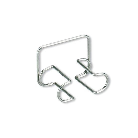 Clip Rolos Algodão (aço inoxidável)